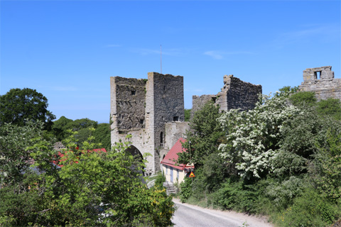 Norderport i Visby ringmur